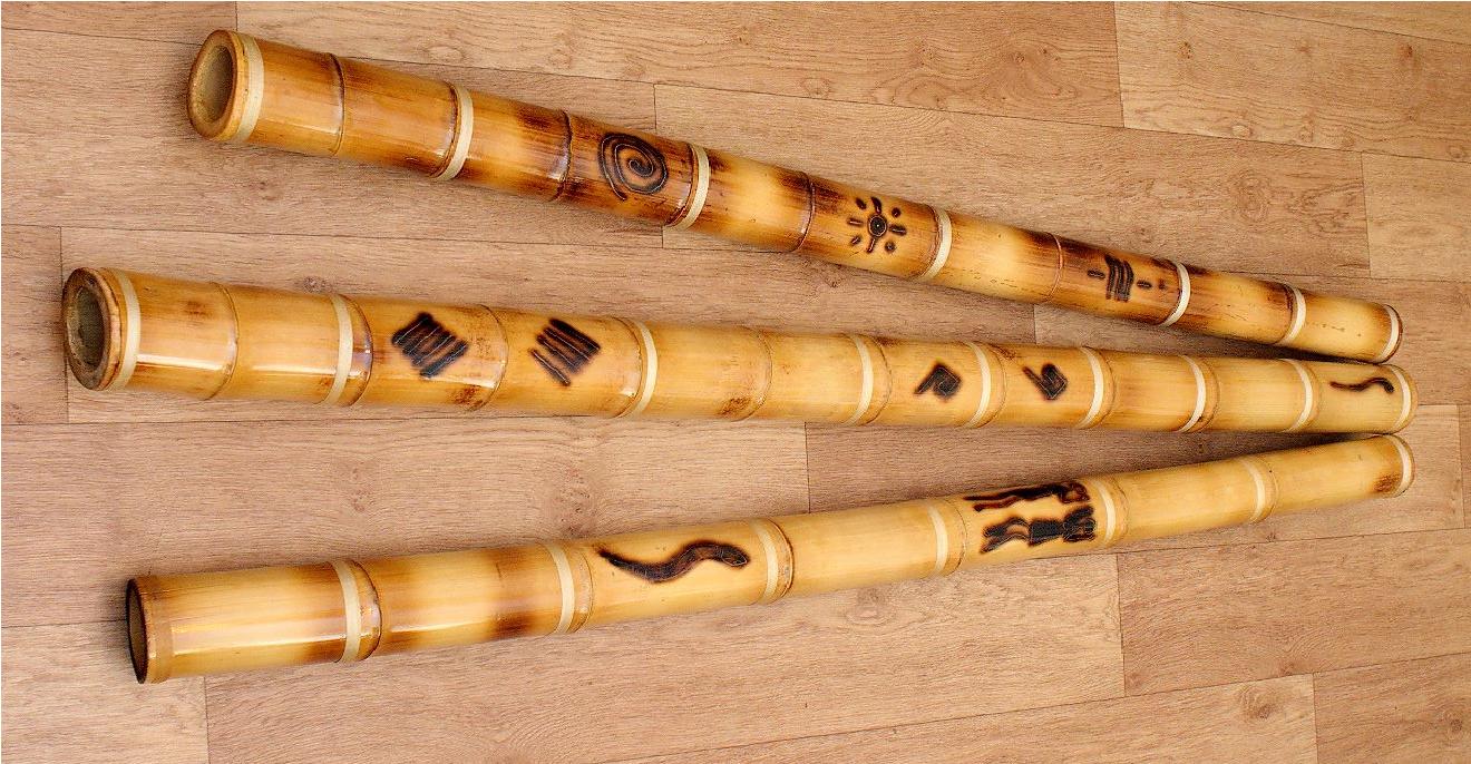 Музыкальные инструменты из бамбука своими руками 43