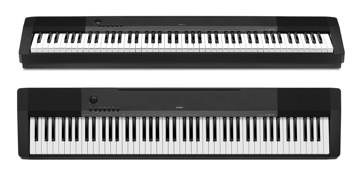 электронное цифровое пианино Casio CDP-120BK