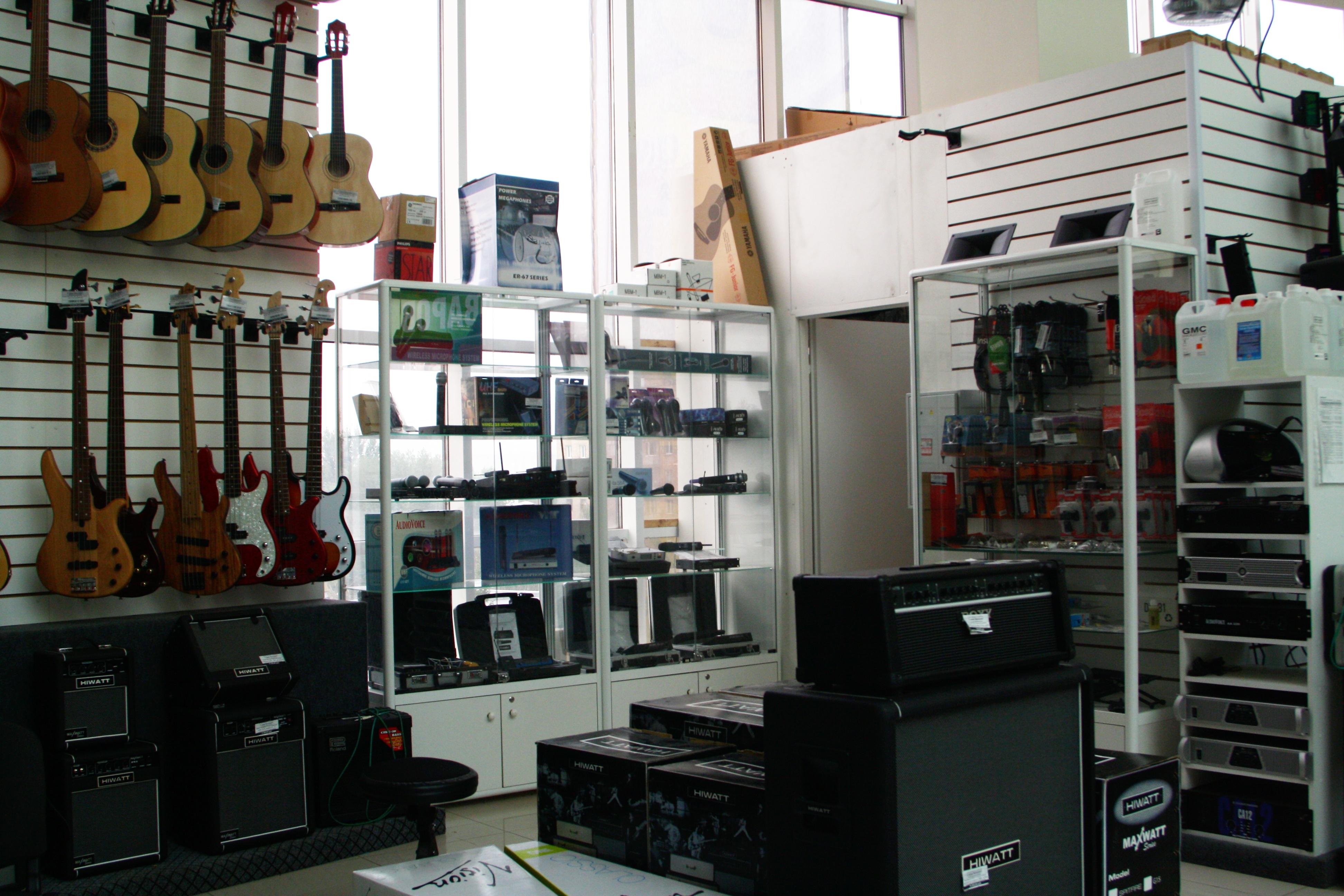 Магазин музыкальных инструментов в Москве JAZZSHOPRU